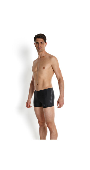 speedo Sports Logo Endurance 10 Aquashort Men black/charcoal